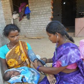 Important Health Work in the Bawaldi Hills