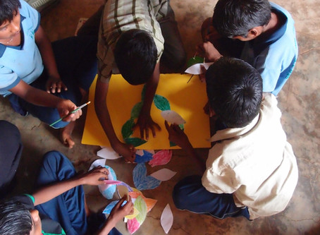 Art Workshops at Seb's Project India
