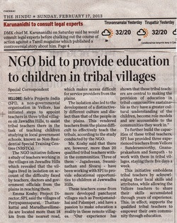 The Hindu, Sunday 17th February 2013