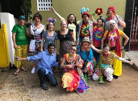 Fun with the Humanitarian Clowns!