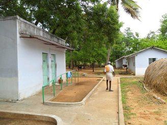 New Toilets for Shanthigramam