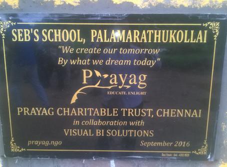 New Tribal School at Palamarathukollai