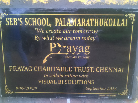 New Tribal School at Palamarathukollai