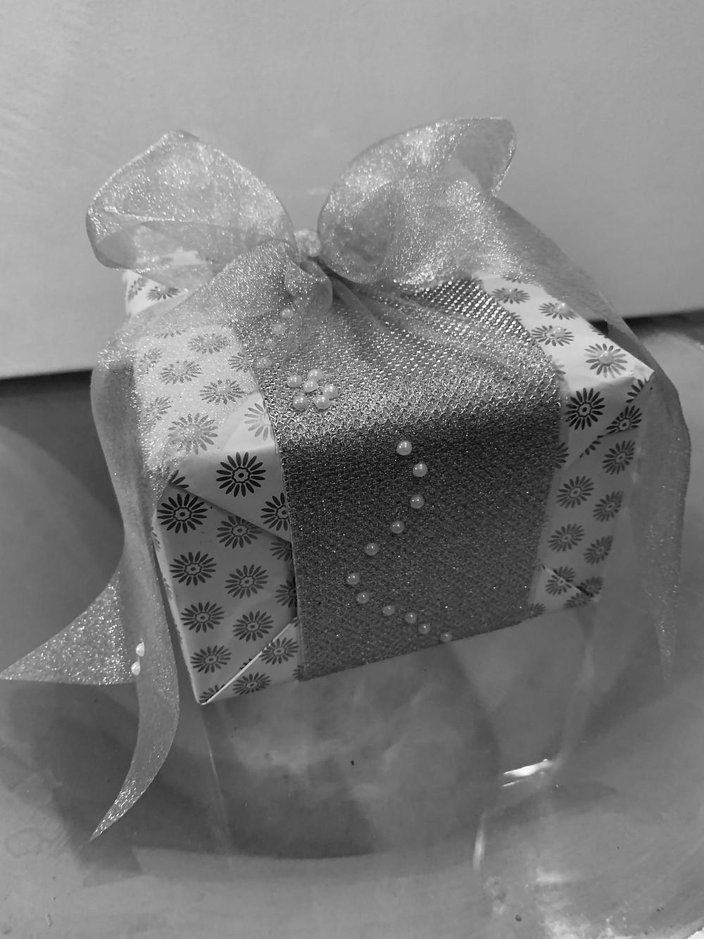 A gift wrapped Titan Nebula watch