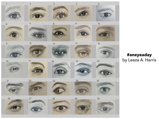 #aneyeaday by Leeza A. Harris
