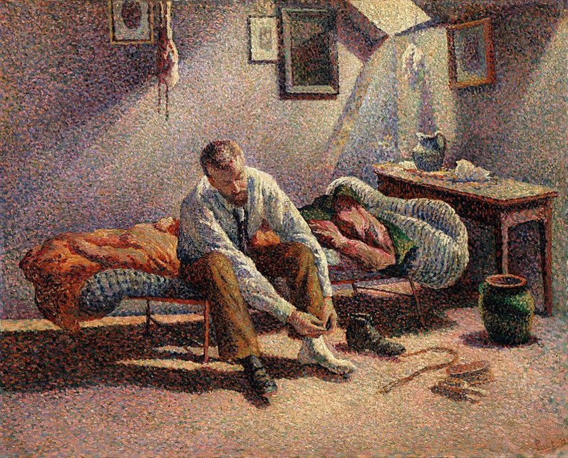 Painting by Maximilien Luce