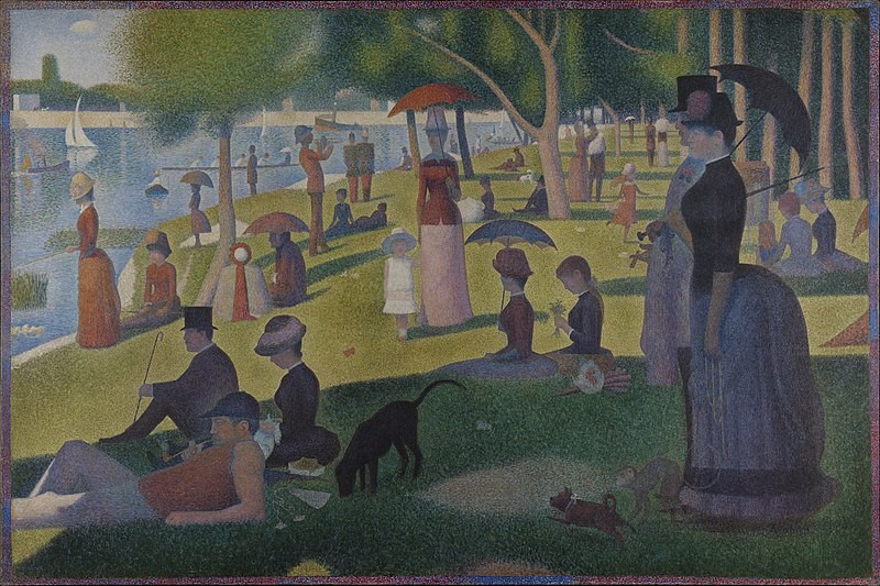 Painting by Georges-Pierre Seurat