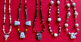 Black white rasta united necklaces.jpg
