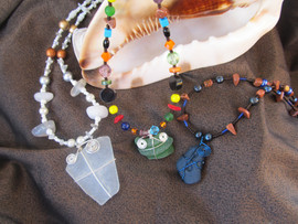 sea glass necklaces with shell.jpg