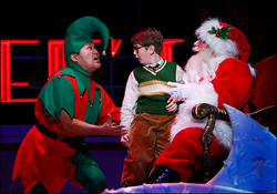 Santa in A Christmas Story