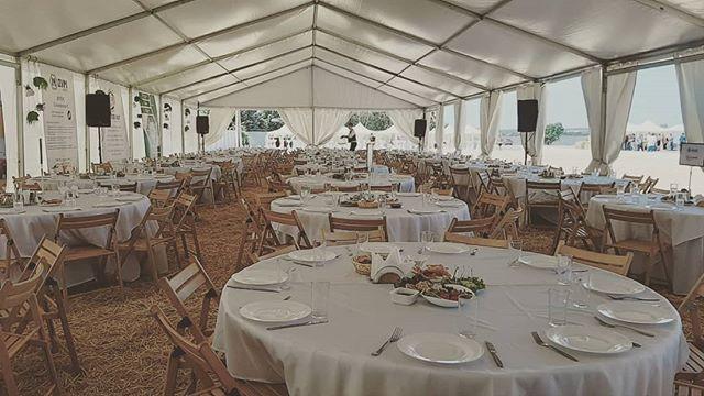 Банкет на 270 гостей под шатром Мультифл