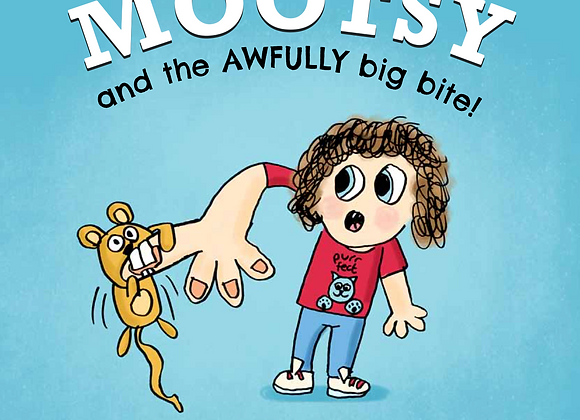 Mootsy And the Awfully Big Bite + POSTAGE IN IRELAND