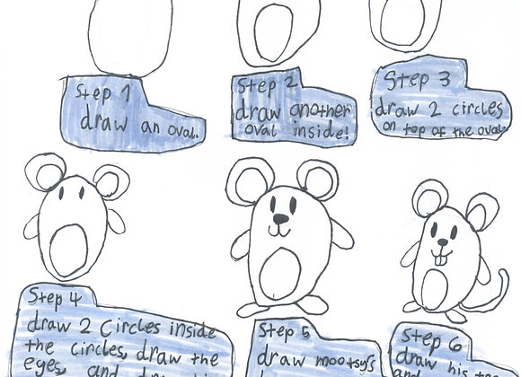 How to Draw Mootsy! Downloadable Sheet