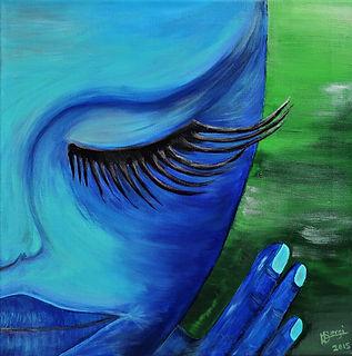 Calma Acrylmalerei Acryl lichtvoll