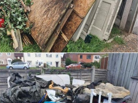 Same Day Shed and Contents removal