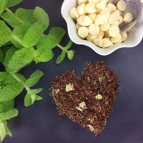 Peppermint White Chocolate Loose Leaf Tea