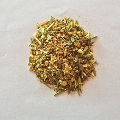 Organic Turmeric Ginger Chai Loose Leaf Tea