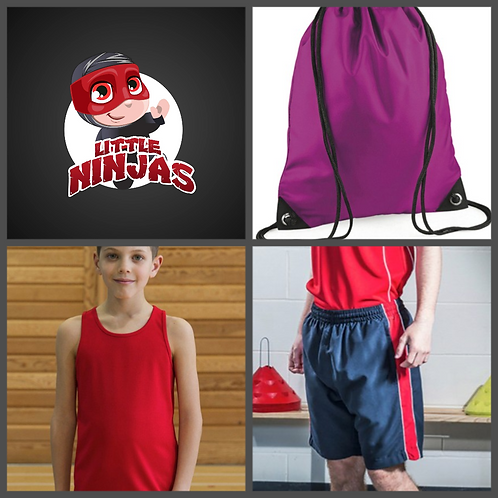 Little Ninjas Summer Uniform Set