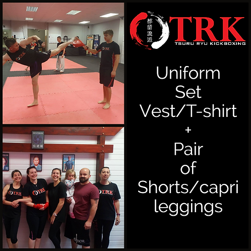 TRK Kickboxing Uniform Set