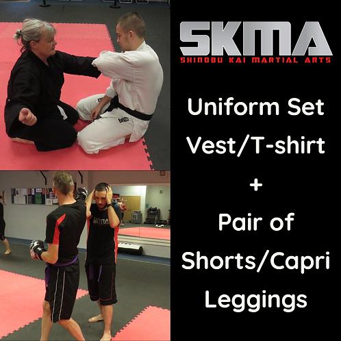 SKMA Karate Summer Uniform Set