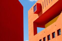 Orange Bâtiment moderne
