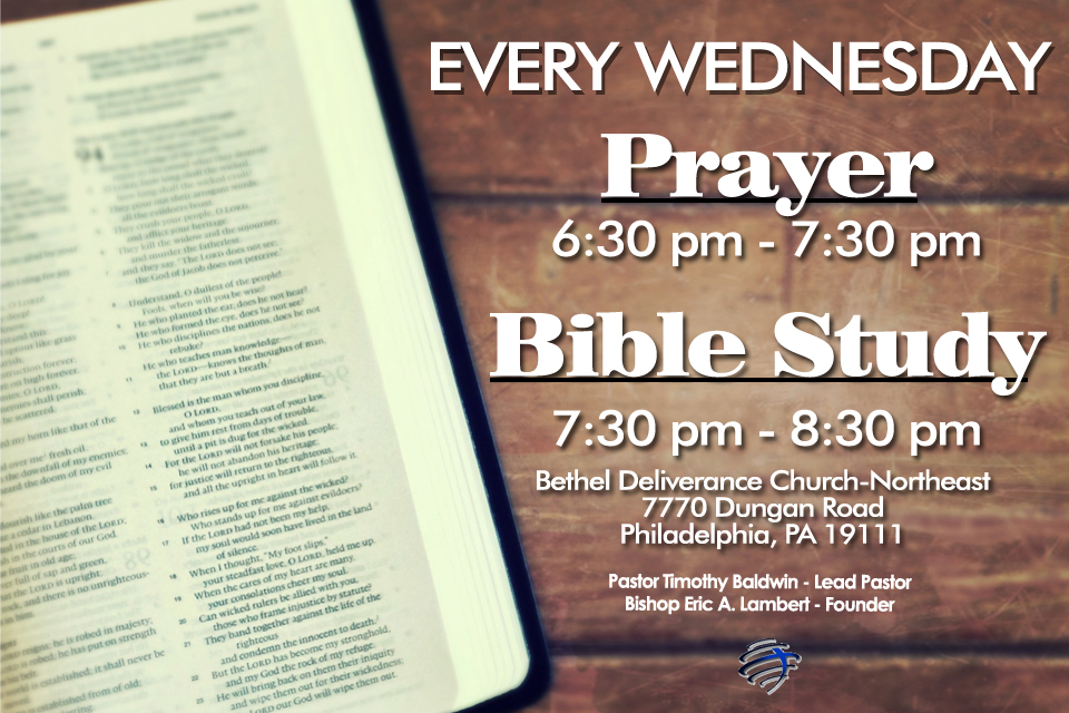 Prayer & Bible Study