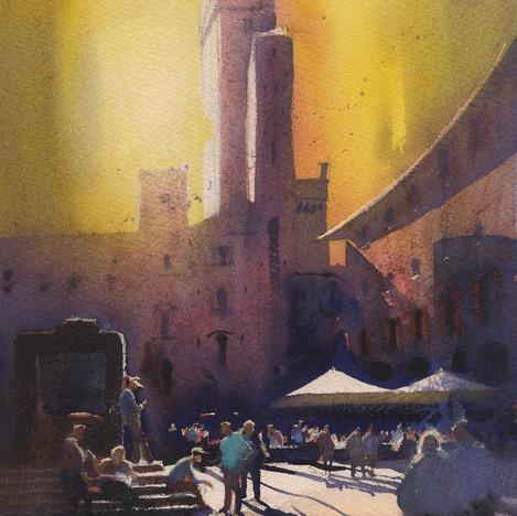 181 Midday San Gimignano