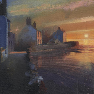136 Parrog Sunset