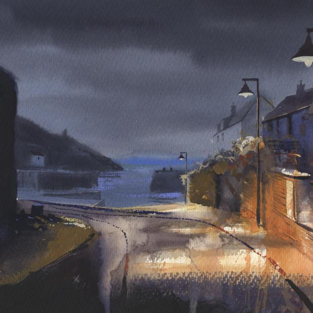 55 Porthgain Sloop and Sea