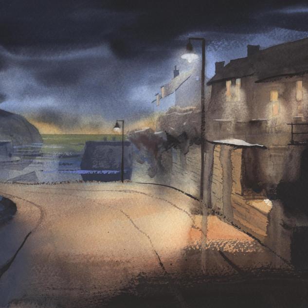 56 Porthgain Sloop and Sea 2