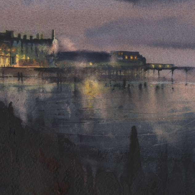 40 Aberystwyth Pier sunset