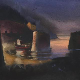 193 Late Gulls Porthgain