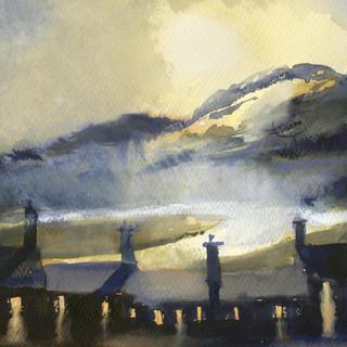 210 Garn Goch Sunrise