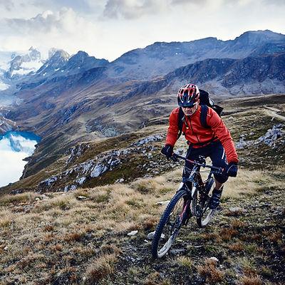 Mountain bike by the Lake