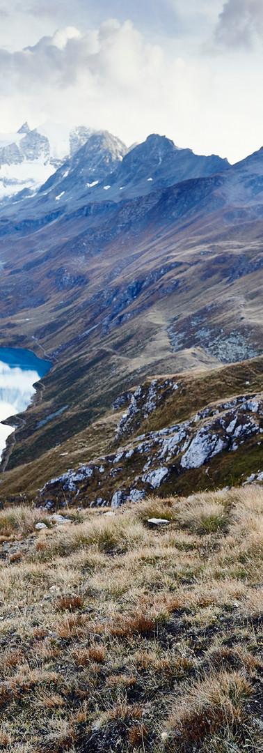 Kolarstwo górskie nad jeziorem