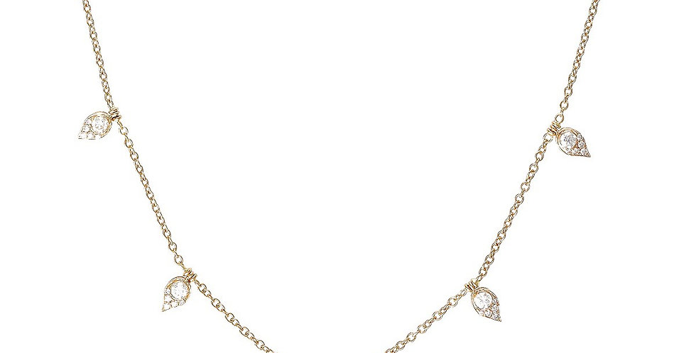 Serena diamond necklace