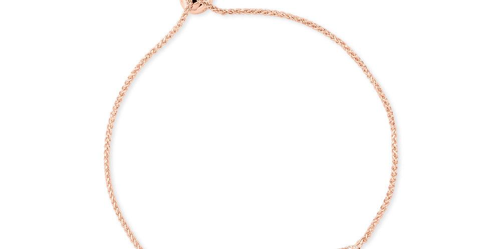 Chain Bracelet Champagne Diamonds