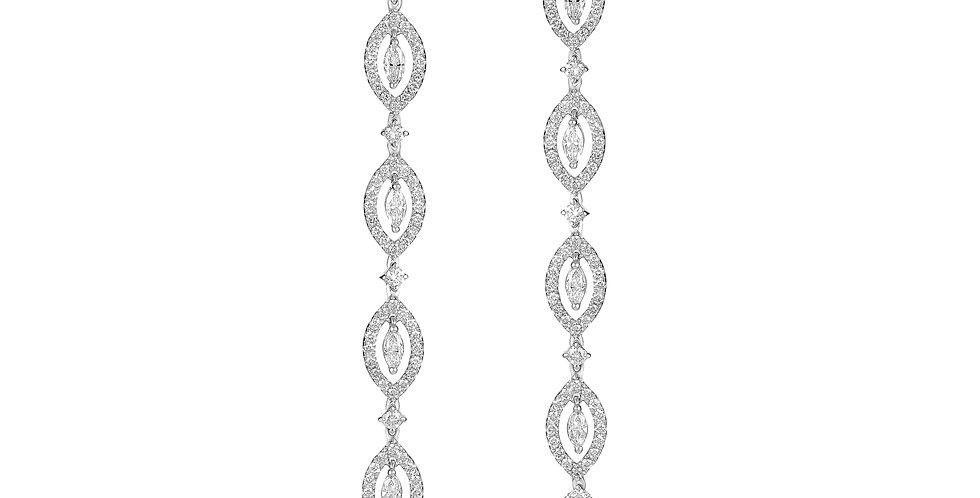 Dangle Marquise Diamond Earring