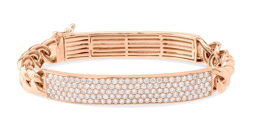 Thick chain bracelet