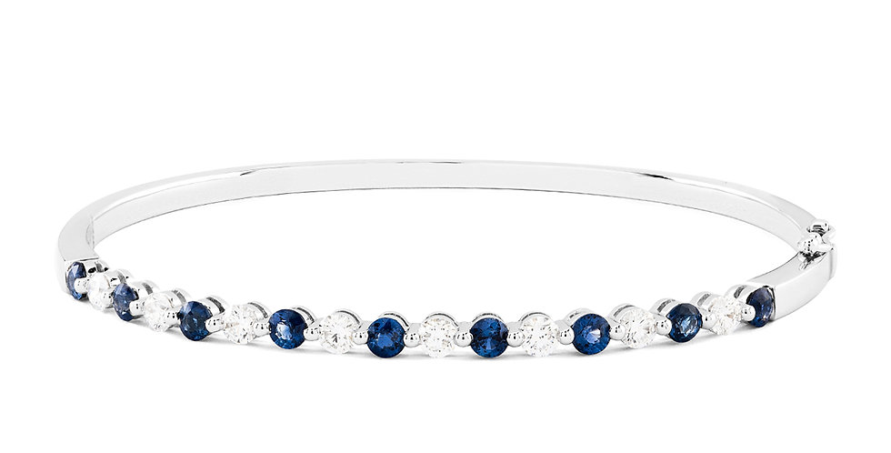 Willow Bangle (sapphires)