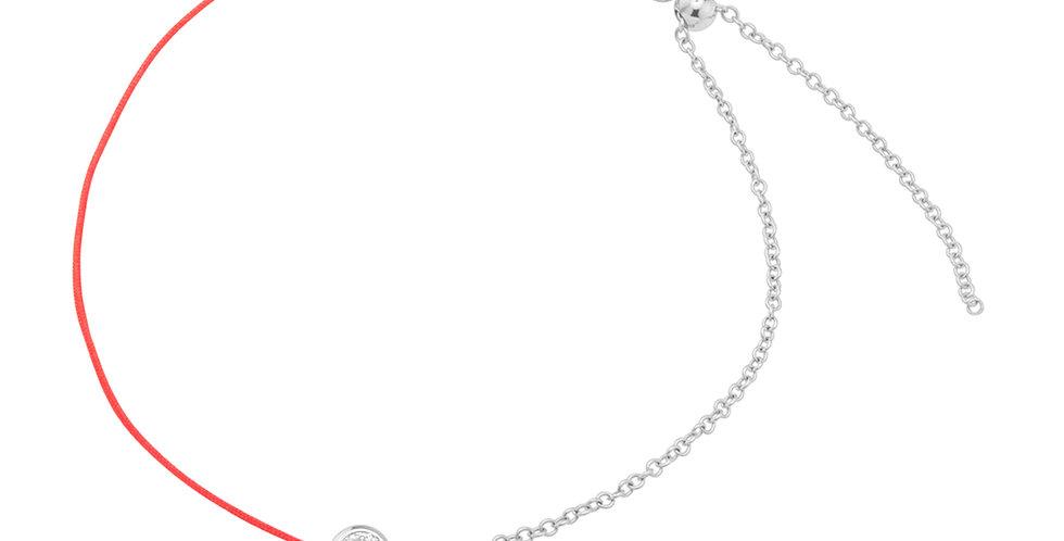 String Bracelet with diamond