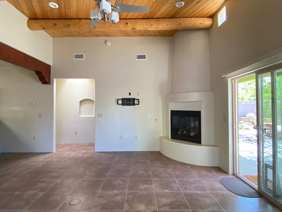 Calle Beatrice | Before Home Staging Empty Living Rooms Lack Inspiration for Buyers