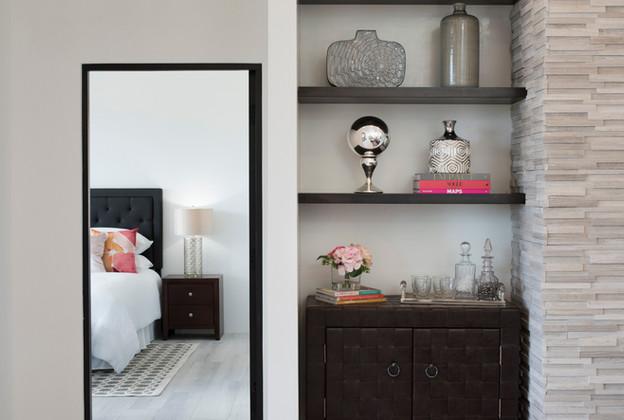 Abierto | Built In Living Room Shelving