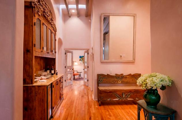 Hillside | Hallway with Skylight and Mirror