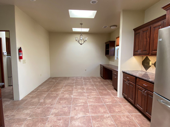 Calle Beatrice | Looking Into Dining Room Before Home Staging