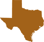 A map of Texas leading to a list of Organic Family Farms Co-op dairy farm members in that state.