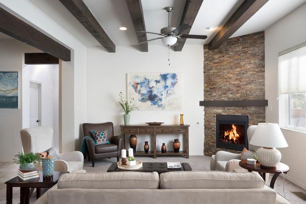 Via Tessera | Living Room Display Wall