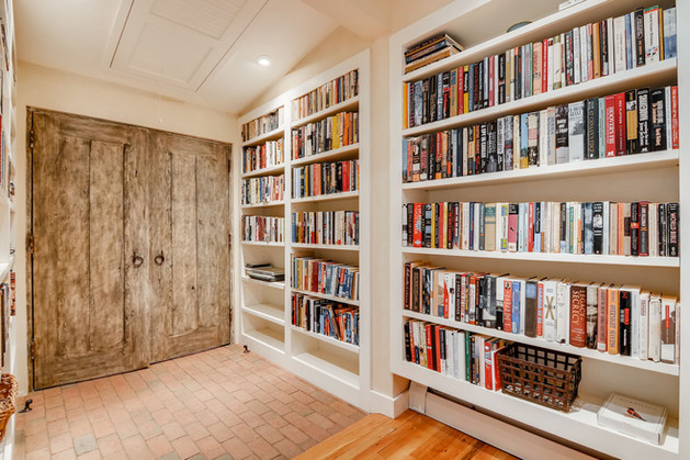 Double Arrow | Built In Bookcases