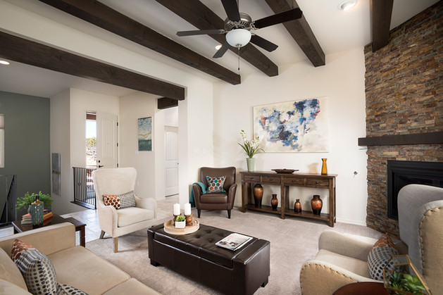 Via Tessera | Living Room to Entryway