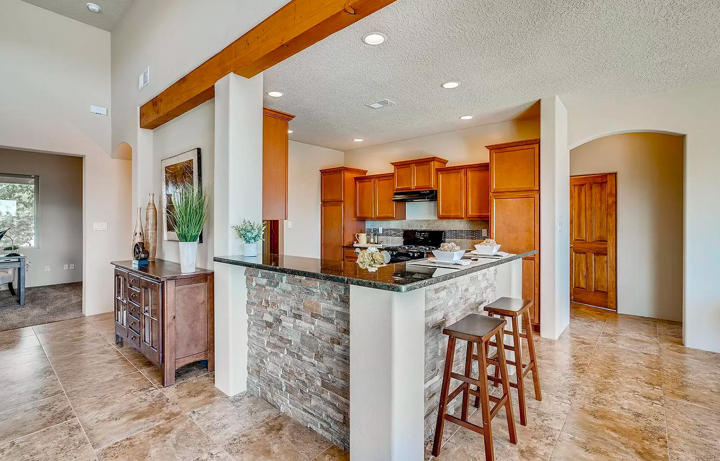 Canto Del Pajaro | Open Concept Kitchen to Living and Dining Areas